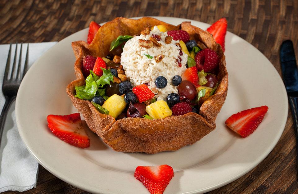 St. Croix Berry Crab Salad
