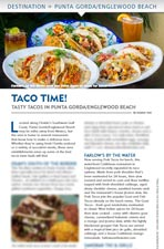 Sunseeker Magazine Taco Time Article